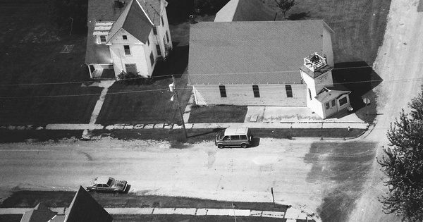 Vintage Aerial photo from 1993 in Poweshiek County, IA