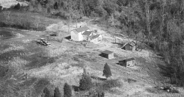 Vintage Aerial photo from 1981 in Culpeper County, VA