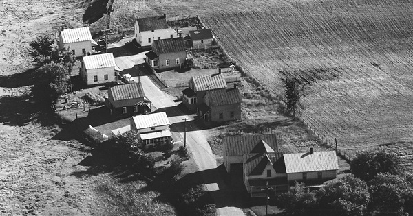 Vintage Aerial photo from 1966 in Franklin County, VT