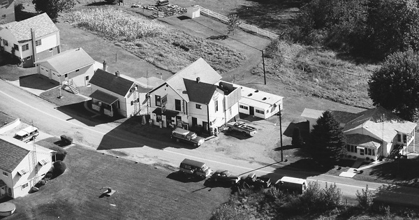 Vintage Aerial photo from 1986 in Belmont County, OH