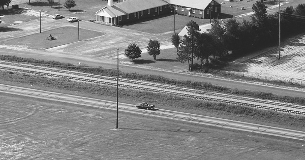 Vintage Aerial photo from 1983 in Aiken County, SC