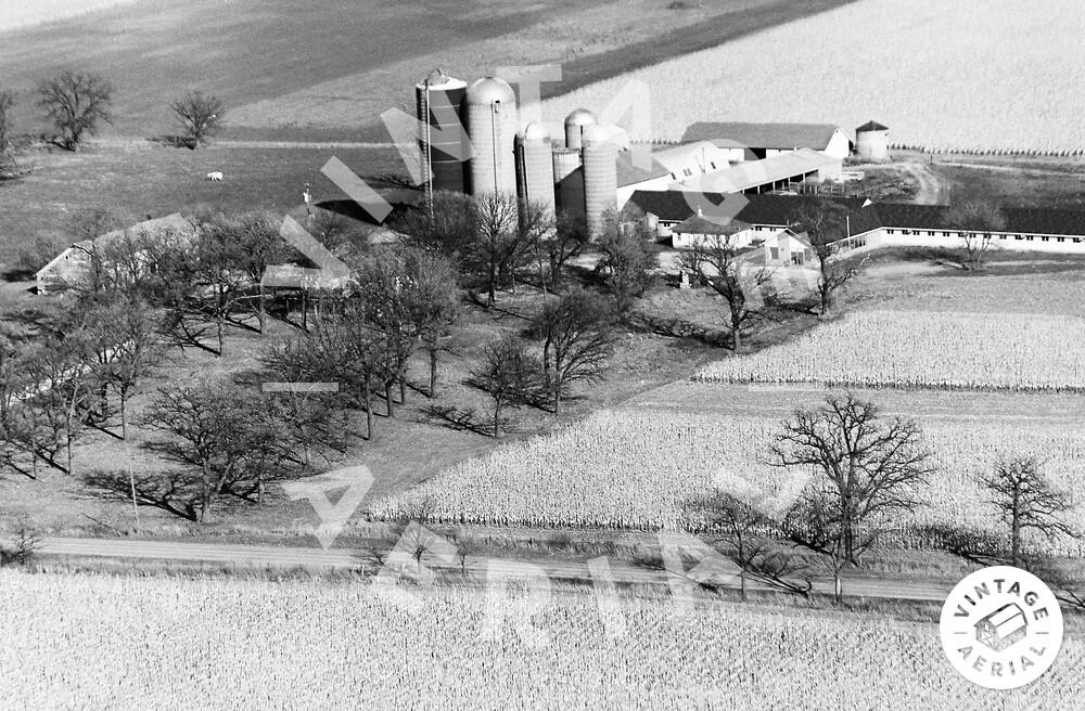 Vintage Aerial | Wisconsin | Kenosha County | 1974 | 61-KKE-4
