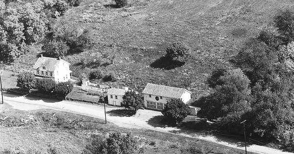 Vintage Aerial photo from 1967 in Berks County, PA