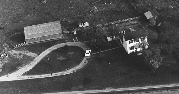 Vintage Aerial photo from 1970 in Ross County, OH