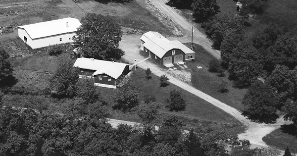 Vintage Aerial photo from 1994 in Osage County, MO