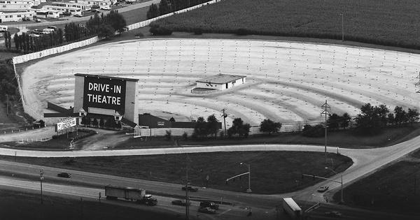 Vintage Aerial photo from 1981 in Cerro Gordo County, IA