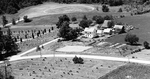 Vintage Aerial photo from 1976 in Washington County, IA