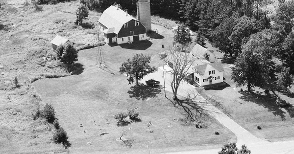 Vintage Aerial photo from 1984 in Sherburne County, MN