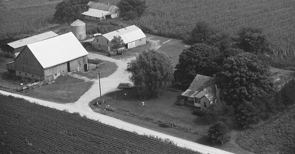 Vintage Aerial photo from 1979 in Harrison County, IN
