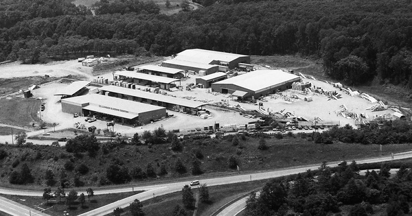 Vintage Aerial photo from 1993 in Frederick County, MD