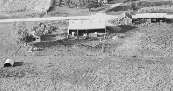 Vintage Aerial photo from 1978 in Stephenson County, IL
