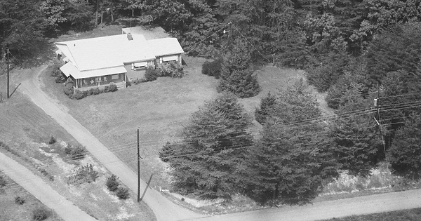 Vintage Aerial photo from -1986 in Gaston County, NC