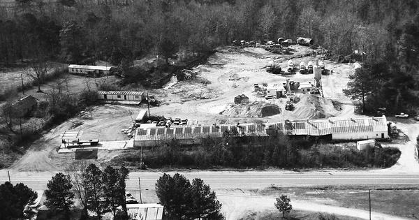 Vintage Aerial photo from 1992 in Walker County, AL