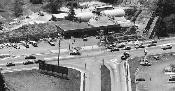 Vintage Aerial photo from 1984 in Augusta County, VA