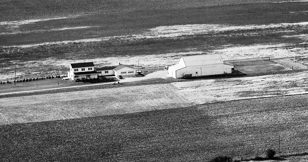 Vintage Aerial photo from 1989 in Darke County, OH