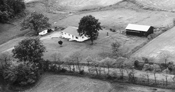 Vintage Aerial photo from 1975 in Wayne County, OH