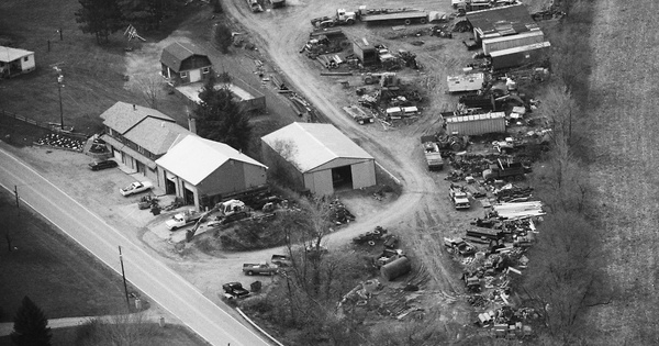 Vintage Aerial photo from 1989 in Westmoreland County, PA