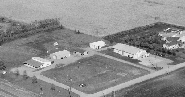 Vintage Aerial photo from 1996 in Lyon County, MN
