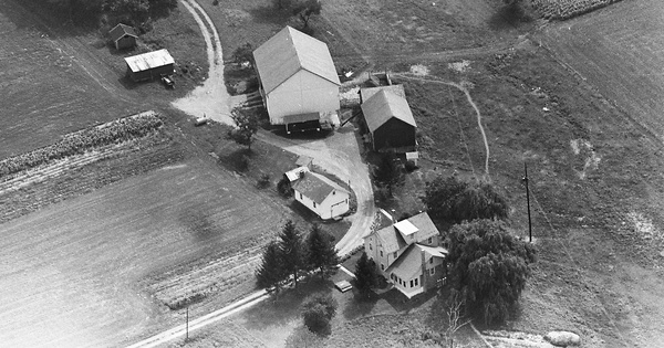 Vintage Aerial photo from 1963 in Lehigh County, PA