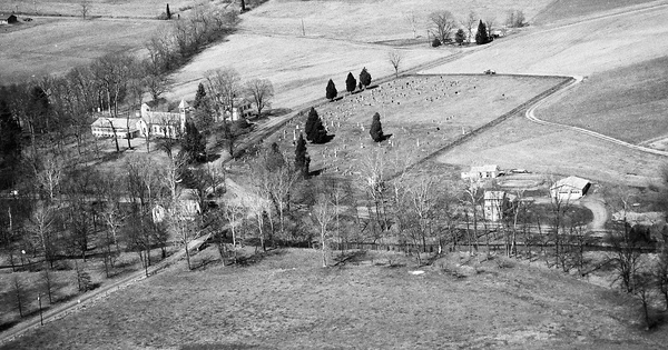 Vintage Aerial photo from 1992 in Perry County, PA