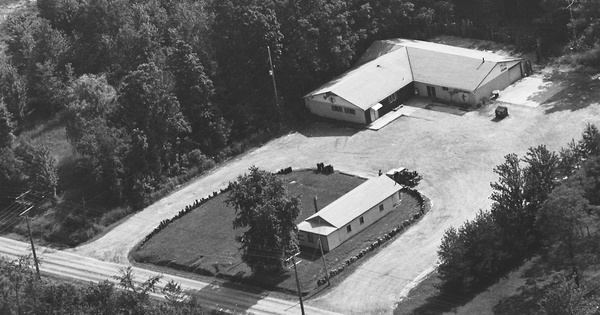 Vintage Aerial photo from 1989 in Ashtabula County, OH