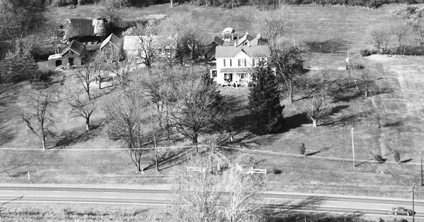 Vintage Aerial photo from 1992 in Frederick County, VA
