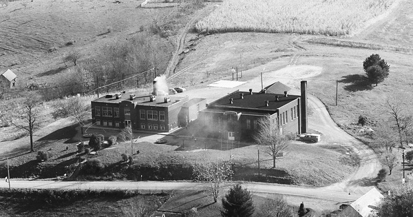 Vintage Aerial photo from 1977 in Belmont County, OH
