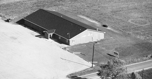 Vintage Aerial photo from 1982 in Iosco County, MI