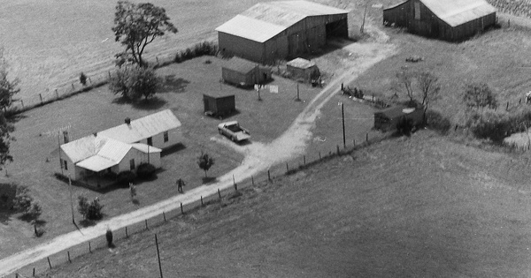 Vintage Aerial photo from 1978 in Hardin County, KY