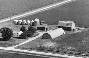 Vintage Aerial | Iowa | Dickinson County | 1980 | 19-XDI