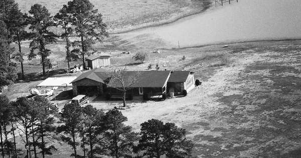 Vintage Aerial photo from 1990 in White County, AR