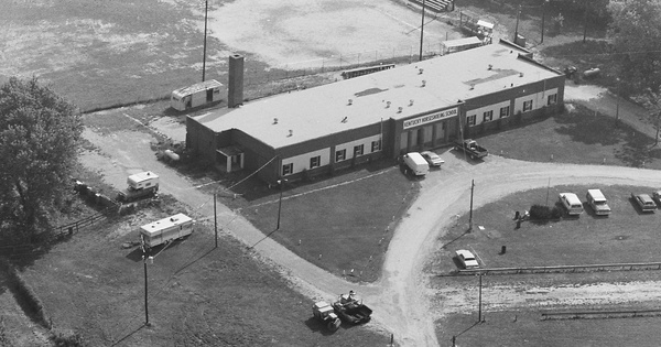 Vintage Aerial photo from 1980 in Shelby County, KY