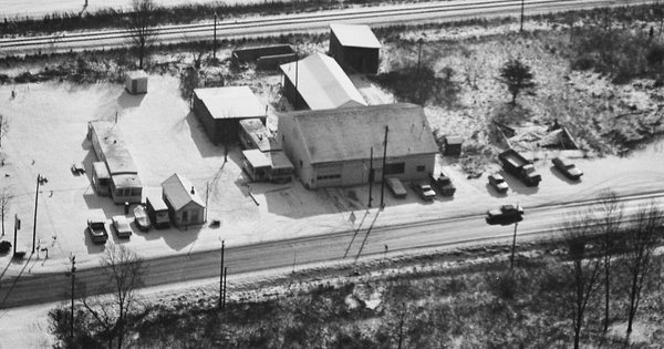 Vintage Aerial photo from 1981 in Rowan County, KY