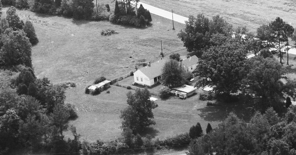 Vintage Aerial photo from 1993 in Coweta County, GA