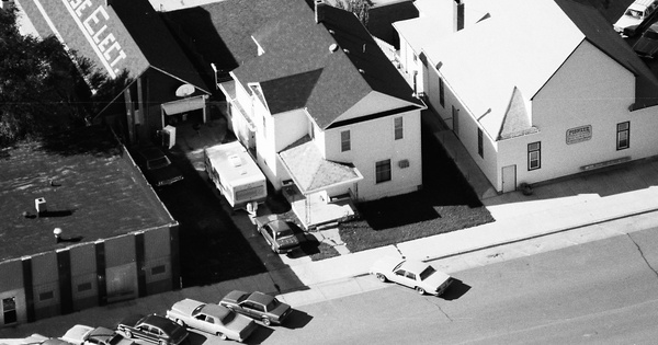 Vintage Aerial photo from 1986 in Thurston County, NE