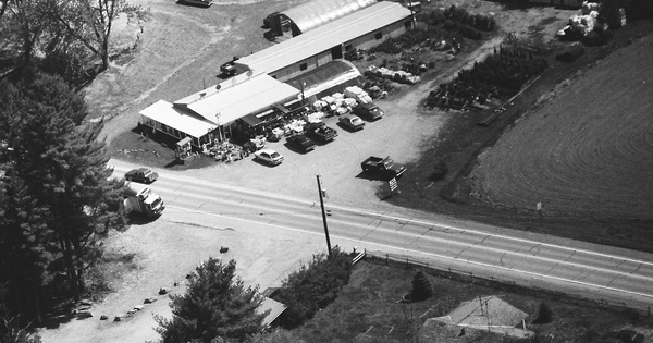 Vintage Aerial photo from 1992 in Wayne County, PA
