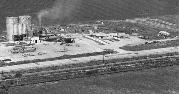 Vintage Aerial photo from 1984 in Stanton County, NE