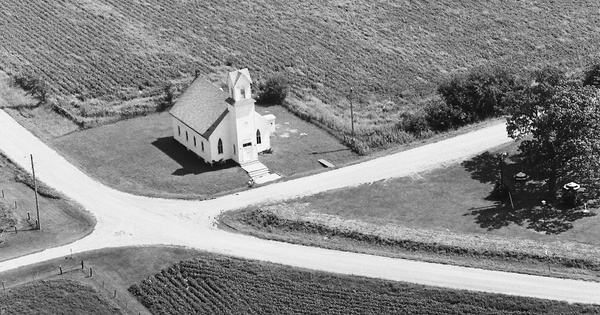 Vintage Aerial photo from 1979 in Guthrie County, IA