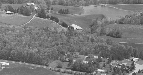 Vintage Aerial photo from 1983 in Chesterfield County, VA