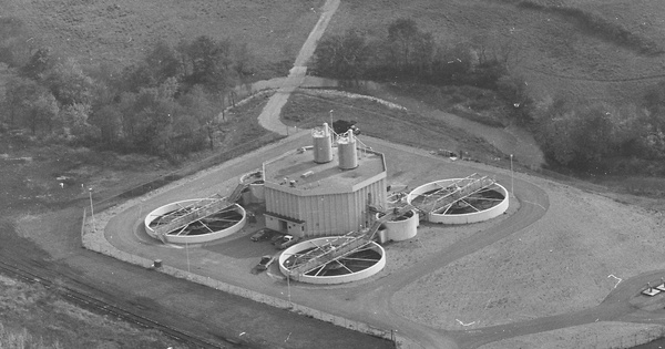 Vintage Aerial photo from 1979 in Indiana County, PA