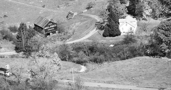 Vintage Aerial photo from 1985 in Preston County, WV