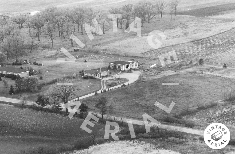 Vintage Aerial | Wisconsin | Kenosha County | 1974 | 30-KKE-10