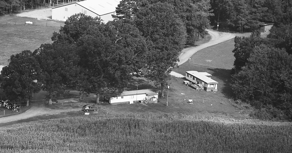 Vintage Aerial photo from 1997 in Warren County, NC