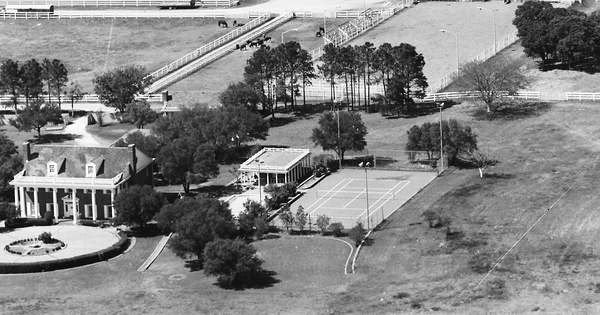 Vintage Aerial photo from 1987 in Tarrant County, TX