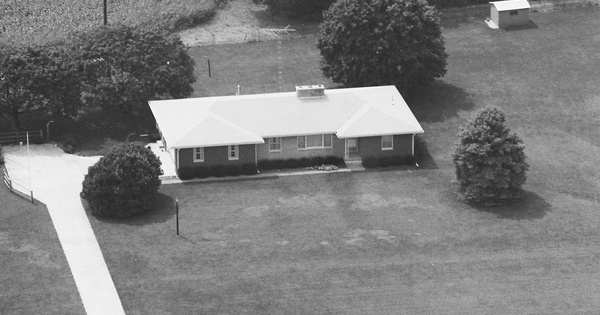 Vintage Aerial photo from 1988 in Ross County, OH