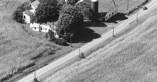 Vintage Aerial photo from 1984 in Lycoming County, PA