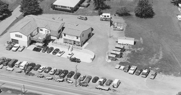 Vintage Aerial photo from 1997 in Dauphin County, PA