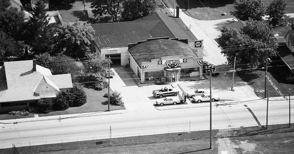 Vintage Aerial photo from 1984 in Hamilton County, IN