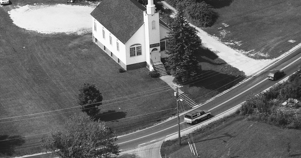 Vintage Aerial photo from 1989 in Kanawha County, WV