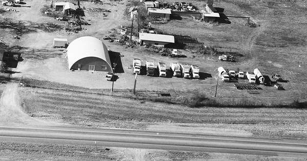 Vintage Aerial photo from 1989 in Sebastian County, AR